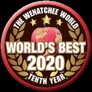 Wenatchee World's Best 2020 Logo