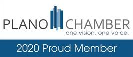 2020 Proud Member of Plano Chamber Badge