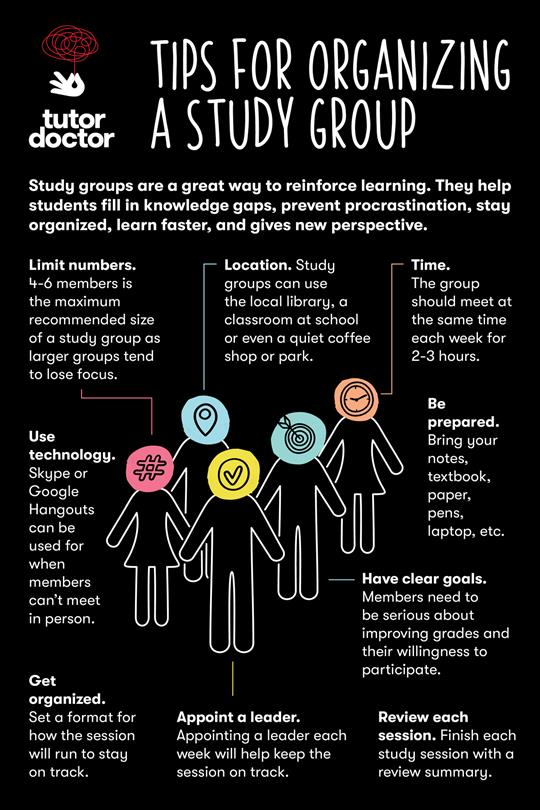 tips for organizing a study group