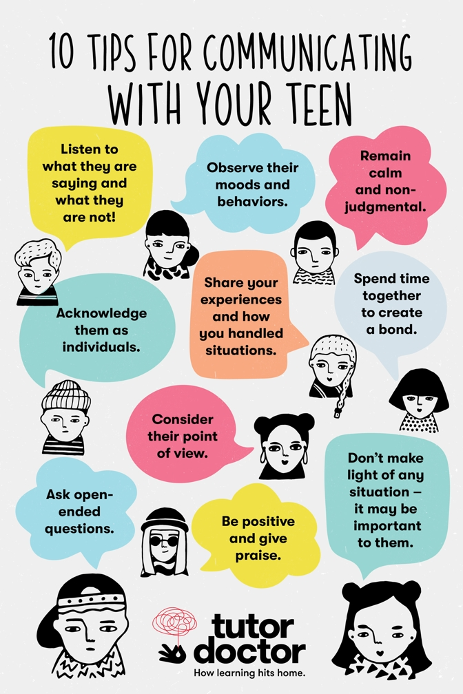 10 tips for communicating with your teen