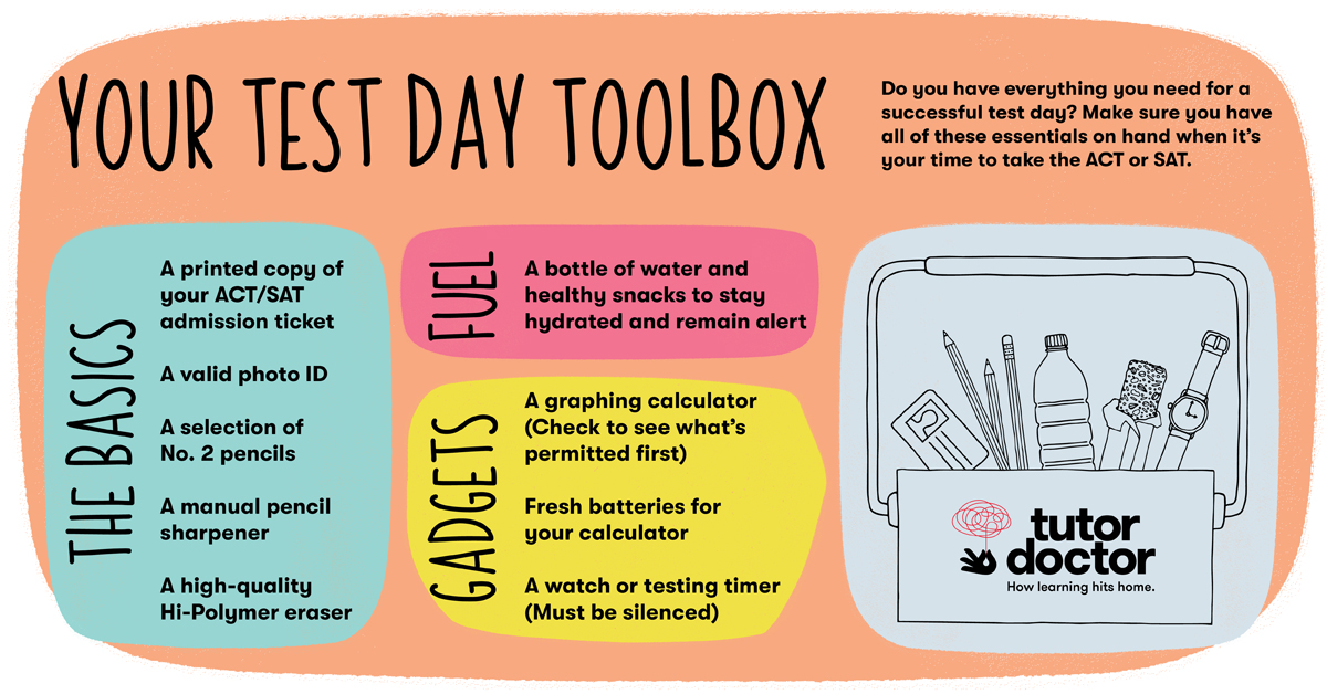 Your test day toolbox
