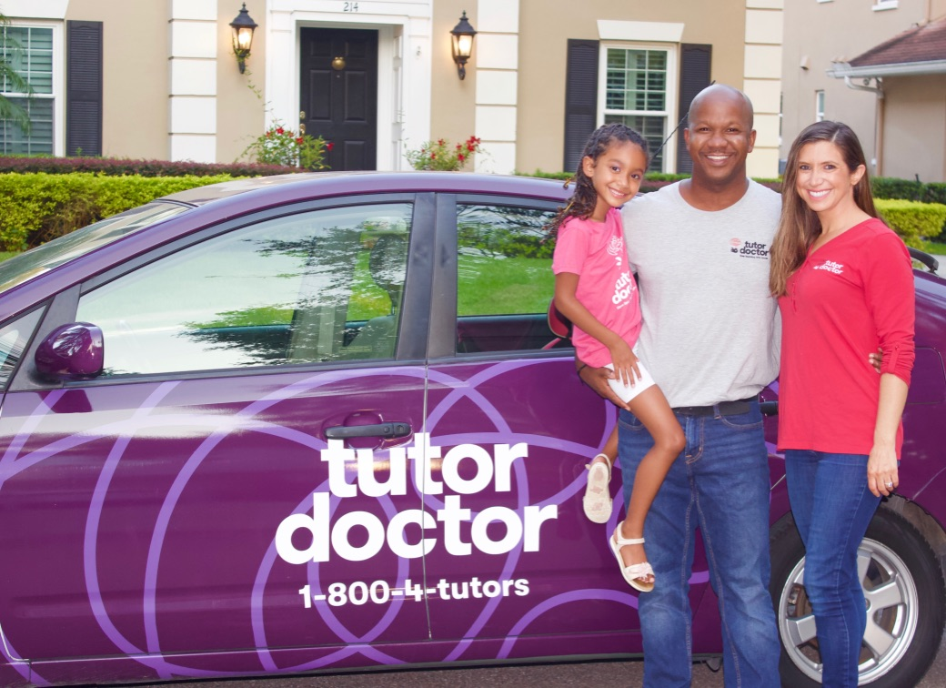 Ralph and Jamie Lee from Tutor Doctor South Tampa