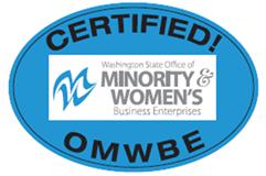 Certified OMWBE Logo