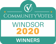 Community Votes Windsor Winner 2020 Logo